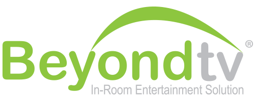 beyondtv inroom entertainment system logo