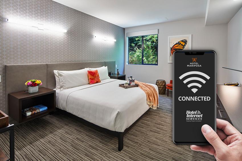 Wireless Guestroom Access